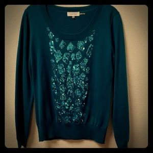 Calvin Klein Teal Party Sweater